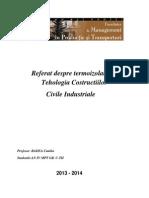 215234989 Referat Despre Termoizolatie La Tehologia Costructiilor 1 Docx