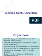 4 Common Emitter Amplifiers CH5