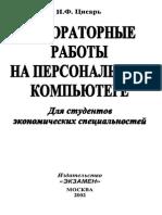 Cisar' I.F. Laboratornye Raboty Na Personal'Nom Komp'Jutere (Ekzamen, 2002)(Ru)(224s)