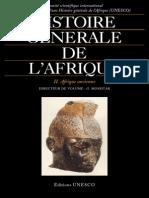 Histoire Générale de l'Afrique II - Afrique Ancienne