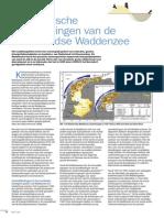 morfologische ontwikkelingen van de Nederlandse Waddenzee.
