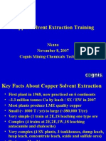 Copper SX Training, Nov. 2007