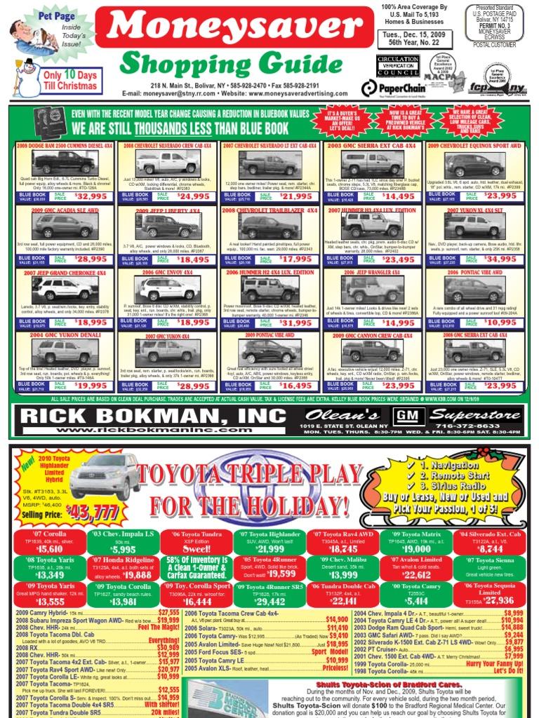 222035 1260799815moneysaver Shopping Guide Chevrolet Silverado Lunch Brooaster Chicken Pkg 5 E Voucher