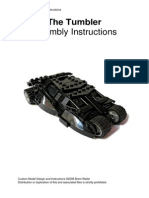 Lego Moc Ideas the Tumbler Assembly Instructions