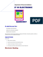 What is Electronic Bankidng Mini (1)