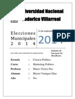 Elecciones Municipales San Juan de Miraflores