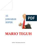 Jawaban Super Mario Teguh