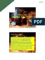Reaksi Dan Klasifikasi Bahan Peledak