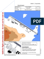 Seychelles approach chart for simulation only