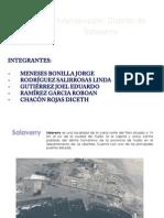Variable de Infraestructura Hidráulica y Energética SALAVERRY