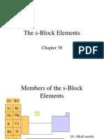 The S-Block Elements (2)