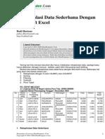 Contoh Rekap Data Excel