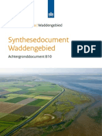 Synthesedocument Waddengebied. Achtergronddocument B10.