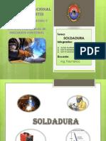 Tecnologia y Proceso - Soldadura