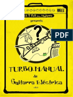 Turbo Manual de Guitarra Eléctrica