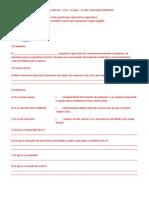 2ª Revisão de Ciências Ar - Água - Solo - Educação Ambiental C2