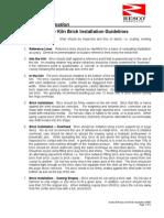Guide 30-Rotary Kiln Brick Installation 1 a Traduccior