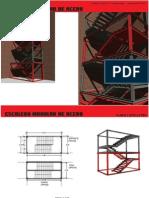 Calculo de Escalera Modular de Acero