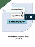 Entrepreneur Observation [Novia Amalia Rizky] [19714133]