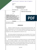 J&J v Soriano Complaint