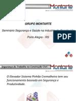 Elevador Pinhão e Cremalheira Montartepa