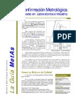 La Guia MetAs 05 03 Confirmacion Metrologica Libre