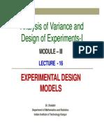 Lecture16 Module3 Anova 1