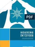 Housing Indigenous Peoples in Cities Policy Guide to Housing for Indigenous Peoples in Cities