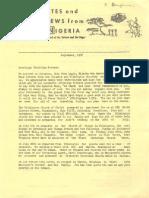Baughman Don Marianne 1976 Nigeria