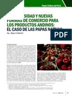 BIODIVERSIDAD Y NUEVAS FORMAS DE COMERCIO PARA LOS PRODUCTOS AN DINOS