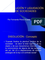 Disolución y Liquidación 2008 2