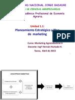Uniidad 1,1-2013 Pautas Plan Mkt