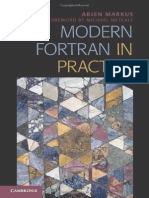 2012 Modern Fortran in Practice