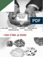 ISO27001,sas70,sox,revenue assurance