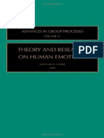 Turner (Ed.) - Theory and Research on Human Emotions