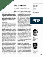 Effect of Air Pockets on Pressure Surge Burrows Et Al (1)