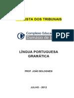 Analista Dos Tribunais - Gramatica - Joao Bolognesi - 2012