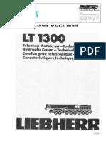 Grua LT 1300 Tablas