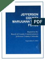 Jefferson County Marijuana Task Force Report