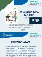 Clase 1 Educacion PS IV Ciclo