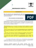 ABORDAGEM DIRETA - APOSTILA