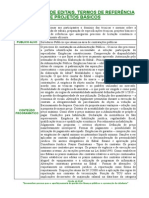 Informativo Curso Elab. de Editais