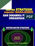 03-Isu Strategik Manajemen