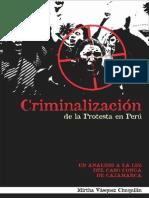 Criminalización de La Protesta en Perú - Mirtha Vásquez