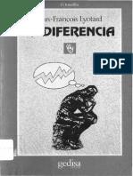 La Diferencia - Jean Francois Lyotard
