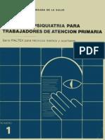Manual de Psiquiatría Para Trabajadores de Atención Primaria