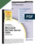 CramSession - Developing and Deploying Microsoft BizTalk Server 2000 v3_0