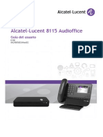 Ug 8115 Audioffice R100 User Guide 8AL90050ESAA 2 Es