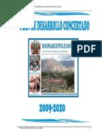 Plan Desarrollo Concertado HUAYUCACHI