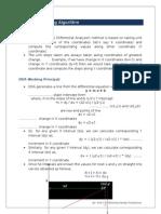 notes dda line drawing algorithm